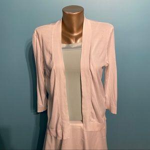 🏝BOGO🏝 Le Chateau white cardigan sweater